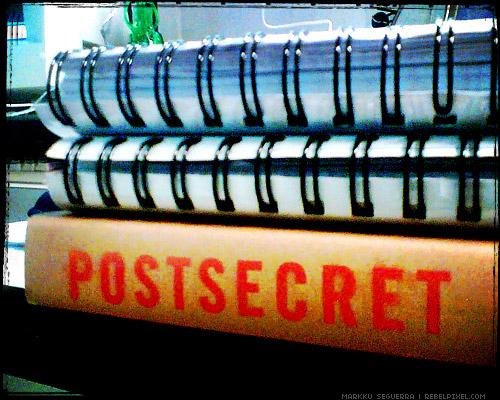 PostSecret book.