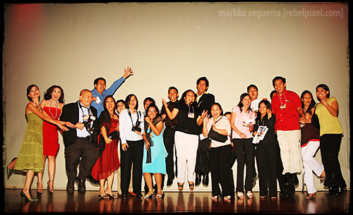 The 2007 Philippine Blog Awards volunteers.