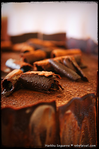 Mocha Manila cake.
