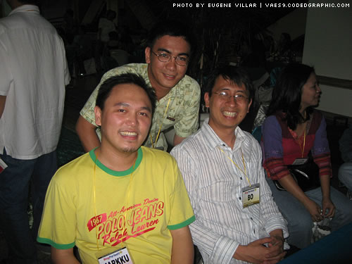 Me with Ederic and Bo Sanchez.