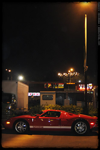 Ford GT at Greenhills.