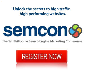 SEMCON Philippines 2007: The 1st Philippine Search Engine Marketing Conference