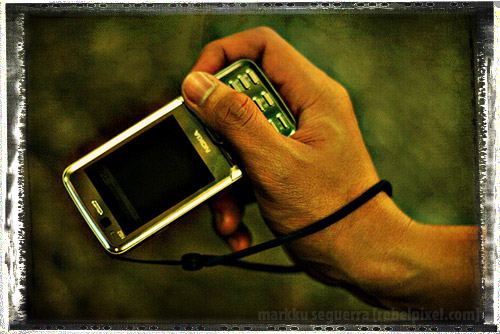Nokia N82: What's wrong with the strap?