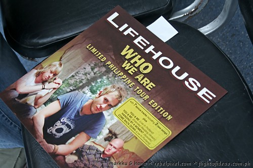 Lifehouse in Manila [1]