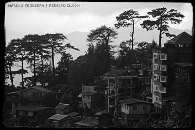 Baguio view.
