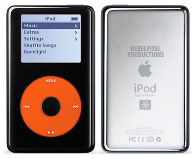 iPod - rebelpixel productions special edition.