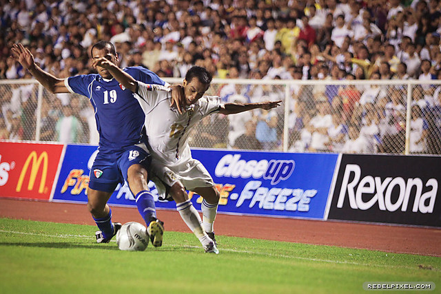 Chieffy Caligdong pesky presence on offense was a constant threat.