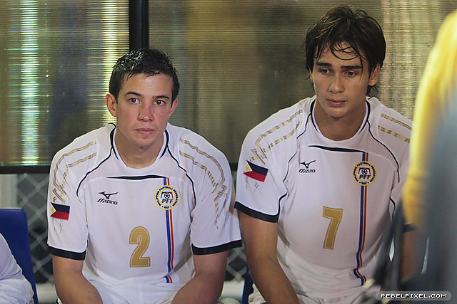 Rob Gier and James Younghusband were workhorses for all of the match that it was hard for them to believe that it ends sadly for the Philippines.