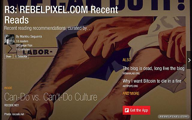 R3: rebelpixel.com Recent Reads