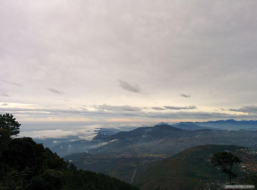 Mount Santo Tomas.